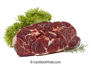τροφή , ωμό κρέας