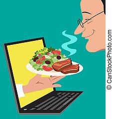 τροφή , online , διάταξη