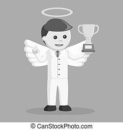 τρόπαιο , επιχειρηματίας , άγγελος