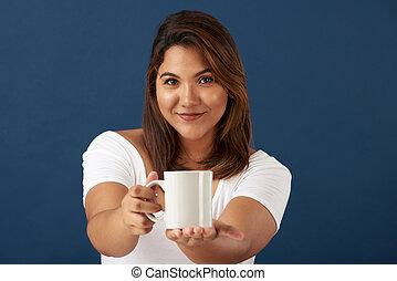 τσάι , εκδήλωση , γυναίκα , νέος , κύπελο