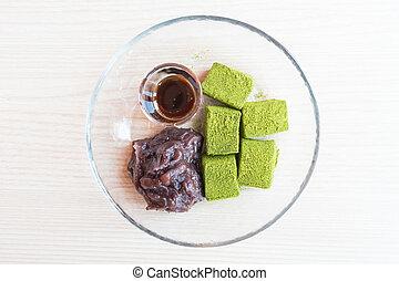 τσάι , φασόλι , moji, αγίνωτος αριστερός