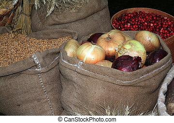 τσάντα , αγορά , κρεμμύδι , αγροτικός