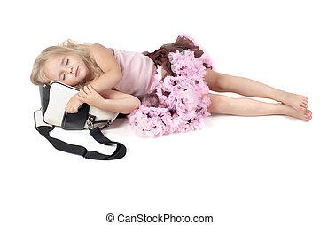 τσάντα , αδύναμος δεσποινάριο , κοιμάται