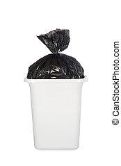 τσάντα , καλάθι σκουπιδιών , σκουπίδια