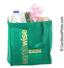 τσάντα , λαχανικά , reusable