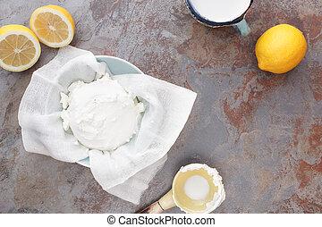τυρί , mascarpone, σπιτικά