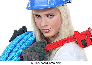 υδραυλικός , γυναίκα