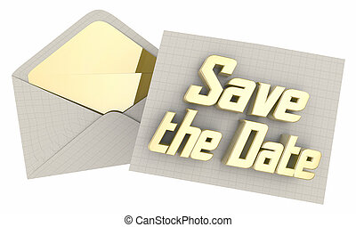 υπενθύμιση , εικόνα , φάκελοs , ημερομηνία , αποταμιεύω , γεγονός , 3d , πρόσκληση