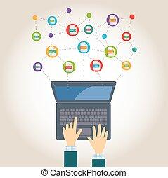 υπολογιστές , επεκτάσεις , άγκιστρο για ανάρτηση εγγράφων
