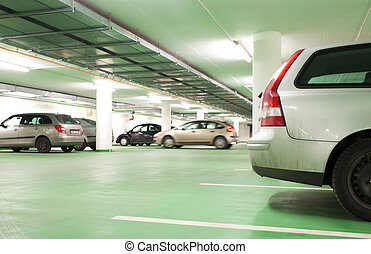υπόγειος , parking/garage