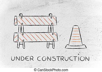 υπό κατασκευή , δρόμος αναχωρώ