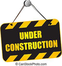 υπό κατασκευή , σήμα