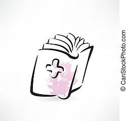 φάρμακο , βιβλίο , grunge , εικόνα