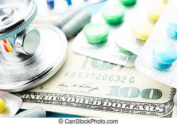 φάρμακο , και , χρήματα