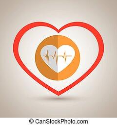 φάρμακο , καρδιά , σύμβολο , εικόνα