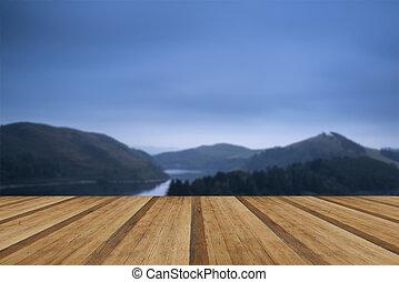 φά , εικόνα , λίμνη , φθινόπωρο , pre-dawn, βασανίζω , τοπίο...