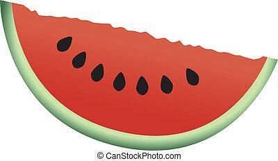 φέτα , καρπούζι