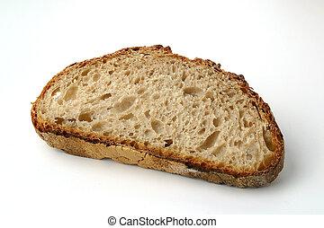 φέτα , bread