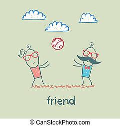 φίλοs