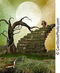 φαντασία , κήπος