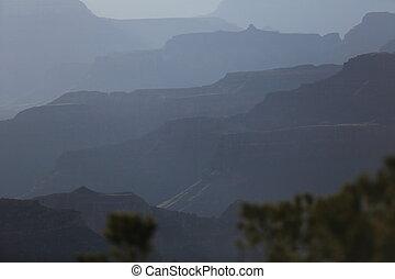 φαράγγι , arizona , αμυδρός
