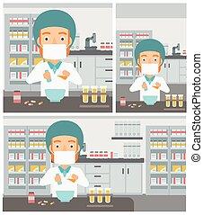 φαρμακοποιός , επεξεργάζομαι , medication.