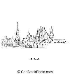 φημισμένος , riga , αρχιτεκτονική , λατβία