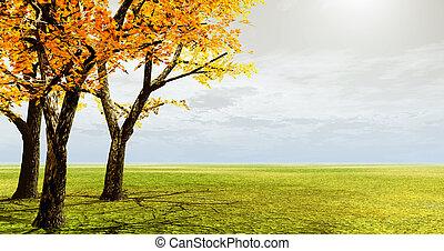 φθινόπωρο αγχόνη