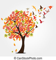φθινόπωρο , δέντρο