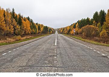 φθινόπωρο , δρόμοs
