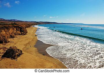 φθινόπωρο , παραλία , ειρηνικός ωκεανός