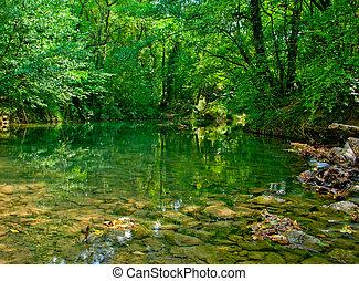 φθινόπωρο , ποτάμι , δάσοs