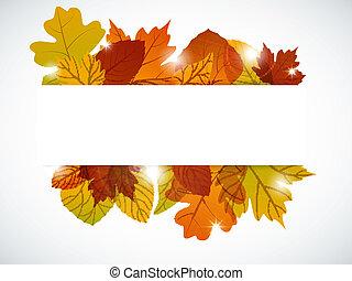 φθινόπωρο φύλλο