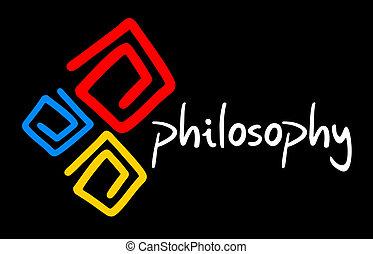 φιλοσοφία , καλύπτω