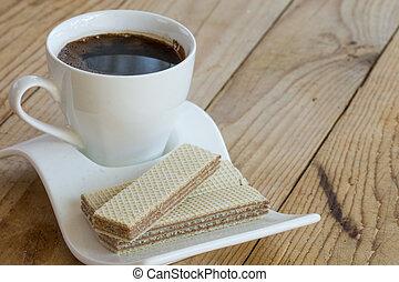 φλιτζάνι του καφέ , σοκολάτα , μαύρο , άσπρο , επικολλώ δισκίο σφράγισης