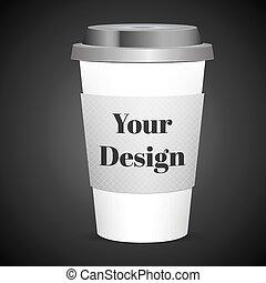 φλιτζάνι του καφέ , isolated., διαθέσιμος , εικόνα , ...