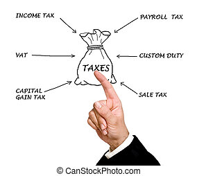 φορολογία, δομή