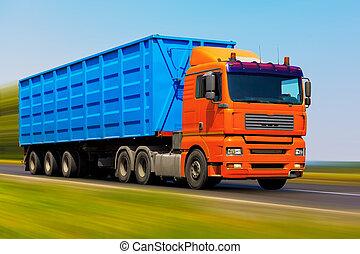 φορτίο , φορτηγό
