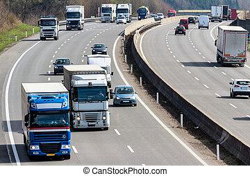 φορτηγό , εθνική οδόs