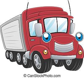 φορτηγό , καραβάνι