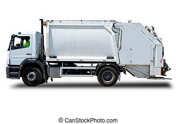 φορτηγό , σκουπίδια