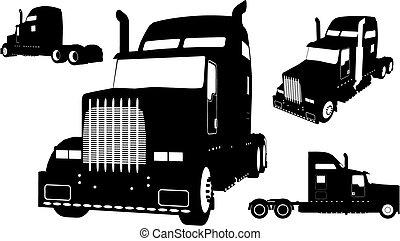 φορτηγό , (vector)
