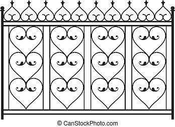φράκτηs , σχάρα , πόρτα , παράθυρο , σχεδιάζω , σίδερο ,...