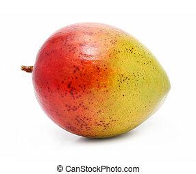 φρέσκος , μάνγκο , φρούτο , απομονωμένος , αναμμένος αγαθός