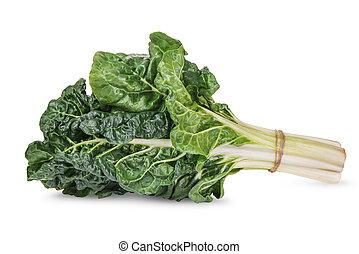 φρέσκος , πράσινο , silverbeet, φύλλα