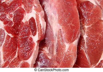 φρέσκος , πριζόλα , κρέας , ακατέργαστος