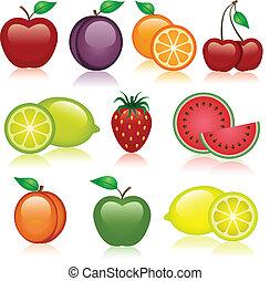 φρούτο , απεικόνιση