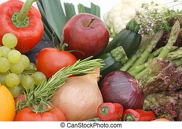 φρούτο , και , λαχανικά