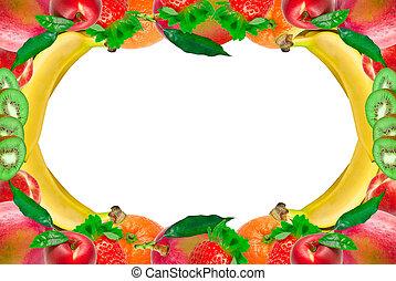 φρούτο , κορνίζα