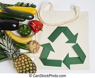 φρούτο , λαχανικό , τσάντα , reusable